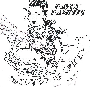 The Bayou Bandits - Served Up Spicey - album art